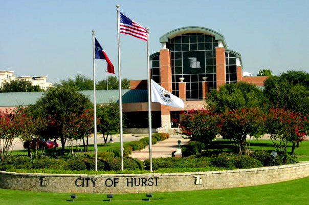 City of Hurst, Texas town hall